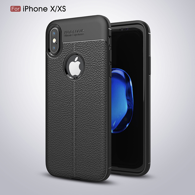 <font><b>Leather</b></font> TPU Auto Focus <font><b>case</b></font> For <font><b>iPhone</b></font> 7 soft silicone <font><b>Case</b></font> For <font><b>iPhone</b></font> XS Xs Max 5 5s SE 6 <font><b>6s</b></font> 7 8 Plus Luxury Back Cover <font><b>Case</b></font> image