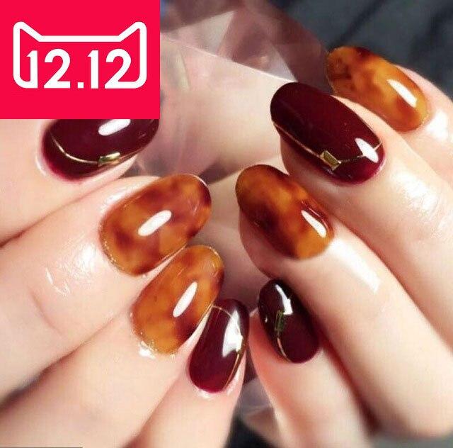 4PCS CHE Amber Looks LED UV Nail Polish Gel Color Nail Art Decoration Beauty Tools Soak Off Nail Painting Gel жидкость domix green professional nail gel polish remuver