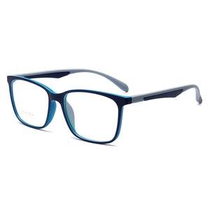 Image 4 - Hotony Optische Brillen Ultem Flexibele Super Lichtgewicht Recept Optische Bril Frame D010