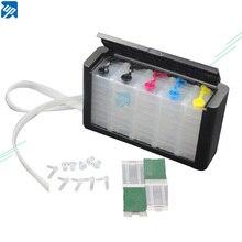 Роскошный 5 цветов СНПЧ комплект с аксессуарами чернильный бак для canon PGI250 PGI450 PGI550 PGI650 PGI750 PGI570 PGI470 PGI150 СНПЧ