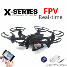 RC Drones with HD Camera Remote Control Hexacopter Professional FPV Quadcopter Original MJX X800 Flying Helicopter Copter C4005