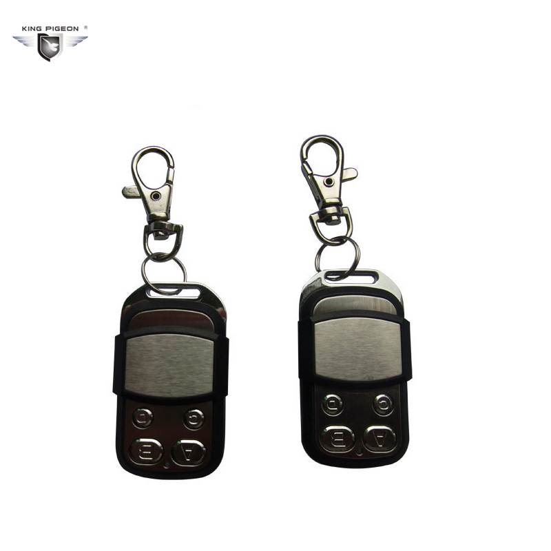 High quality! KingPigeon 4 channel universal learning code 433MHz RF Remote Control Transmitte (2pcs RM-03) lite full aluminum high quality universal remote supports mv02 mv04 mv06 v02 v03