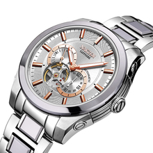 NAKZEN tourbillon hot automatic mechanical brand men s watches army sports water resistant 100m luminous watch