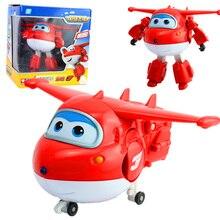 8 Estilo 15 cm ABS Avión Alas Súper Deformación Robot Figuras de Acción Juguetes para Niños Brinquedos Regalo de Transformación