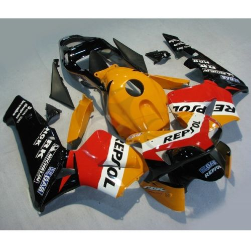 Инъекции Формованных Зализа ABS Кузов комплект, пригодный для Honda CBR600RR 2003 2004 Ф5 5А