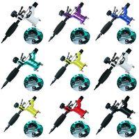Besta 7 Renkler Dragonfly Rotary Dövme Makinası Shader ve Liner İğne Kavrama Ile Sanatçılar Için dövme Motor Gun Setleri Tedarik dövme