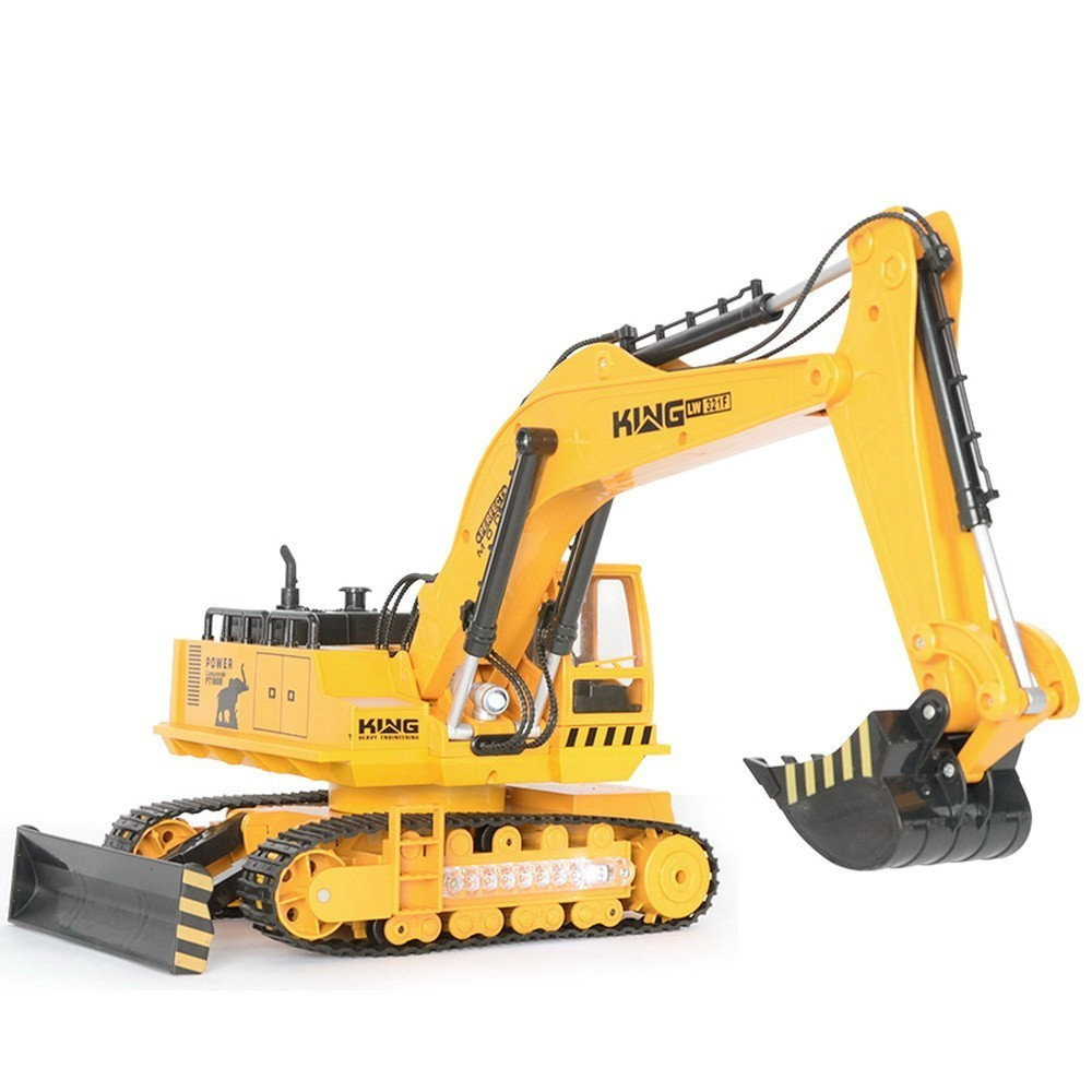 Engineering Vehicle Tuba Charge Excavator Remote Control Childrens Toys Vehicle without original box controle remoto voiture rc quality good engineer series motor driven remote control tuba excavating machinery e511 toys goods in stock without original box