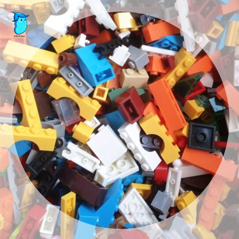 StZhou 1kg Random Bricks Building Blocks City DIY Creative Educational Toys For Children designer аксессуары для косплея random beauty cosplay