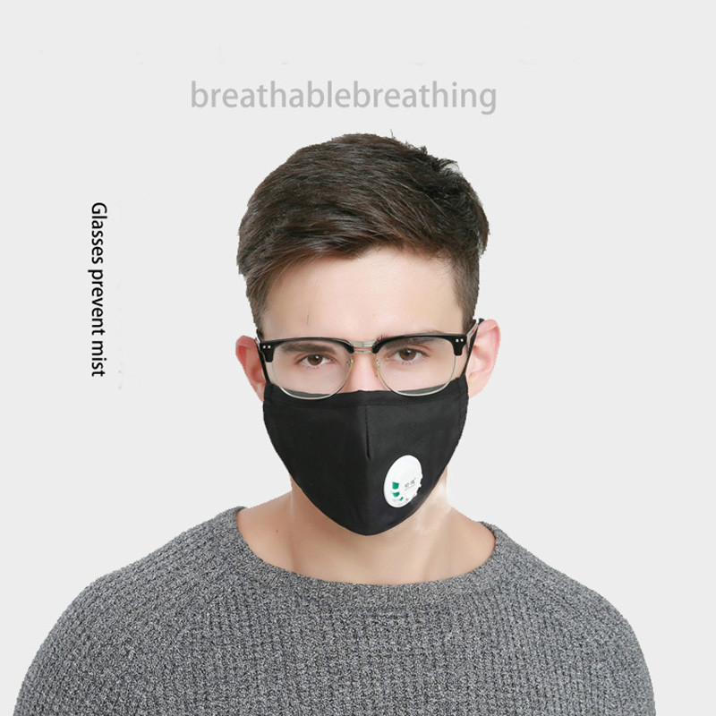 Masks Muffle asthma Respirator Cotton Washable Reusable Cycling Dust For Mouth Unisex Pollution Allergy travel Anti Mask