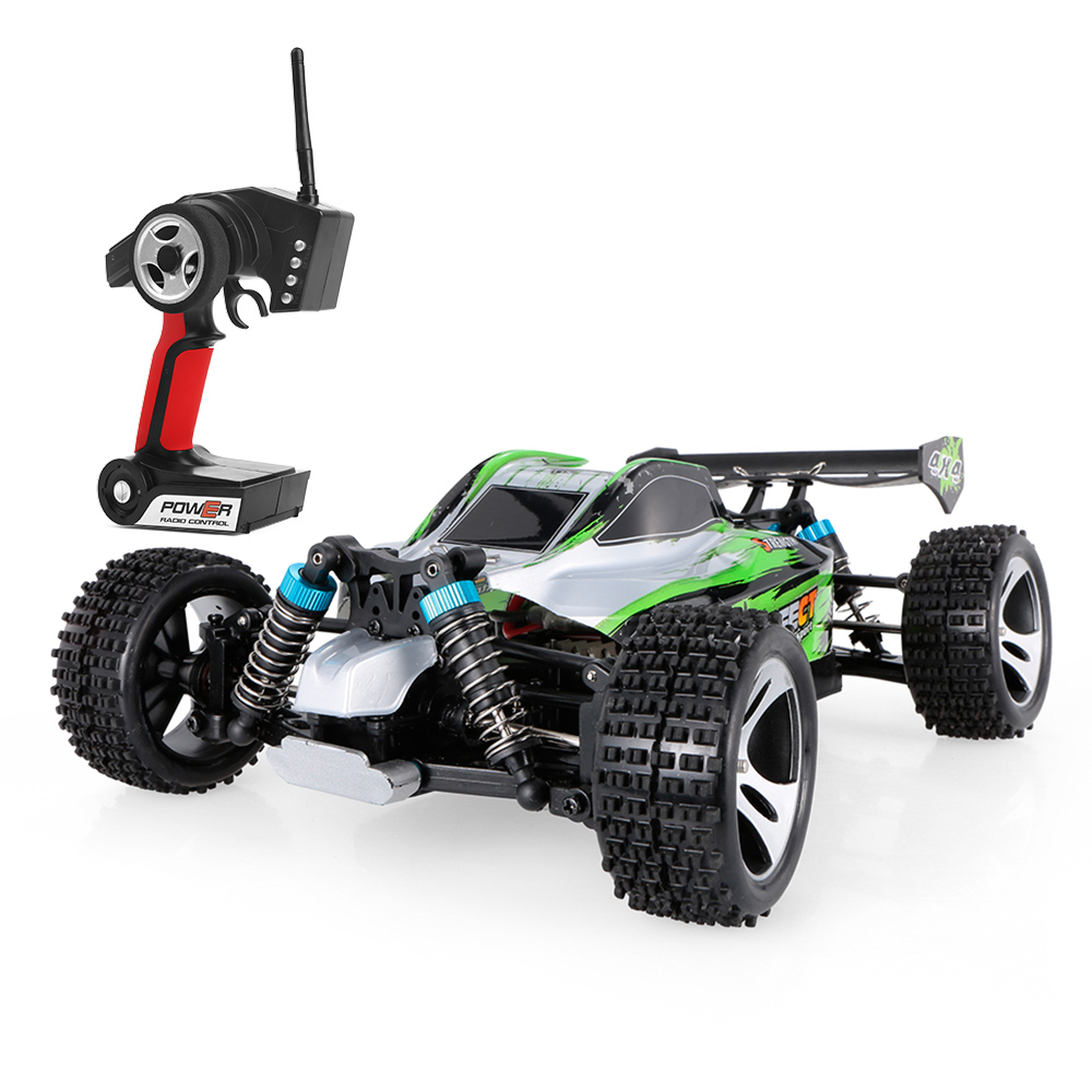 Wltoys A959-A RC Off-road Car Buggy 1/18 Scale 2.4G 4WD Electric RTR Monster Truck SUV Remote Control RC Toy Car Gift V A959-B