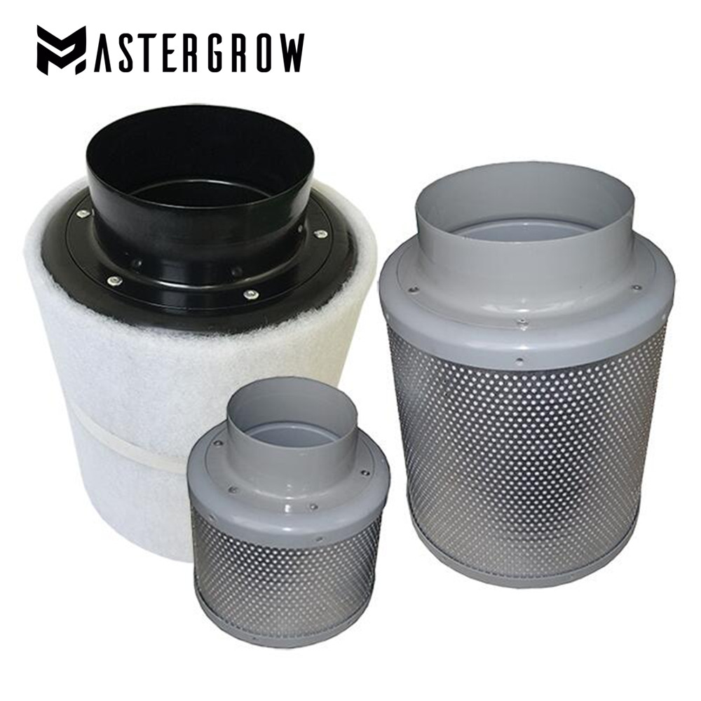 Grow Tent 4/5/6/8/10 Inch HIGH EFFICIENT Activated Carbon Air Filter Set For Indoor Hydroponics Grow Tent Greenhouses Grow Light