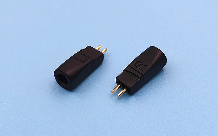 2 pcs 0.75mm headphone plug pin ZS5 ZS6 ZST ZS3 ZSA ES3 ED12