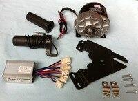MY1016Z3 350 W 24 V gear motore della spazzola con il Regolatore del Motore e Twist Throttle, Kit Bicicletta Elettrica FAI DA TE