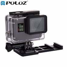 Puluz консольные Уивер Пикатинни Quick Release пистолет железнодорожных Сторона крепление для GoPro Hero5/4/3 +/3 /2/1 для Go Pro Аксессуары