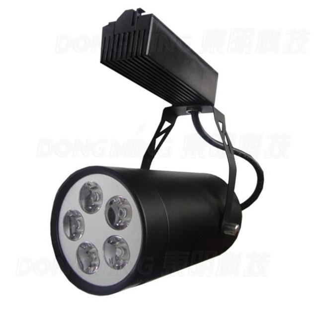 1pcs  85-265V 5w led track light clothes shop decoration light energy saving and high brightness light free shipping
