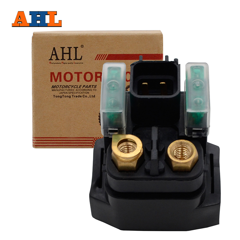 AHL Street ATV Motorcycle Starter Solenoid Relay Ignition Key Switch For Suzuki VL1500 Intruder C1900 / Boulevard C90 1998-2009 for suzuki intruder 1400 1500 lc boulevard s83 c90 marauder 800 wing motorcycle foot pegs motorcycle part