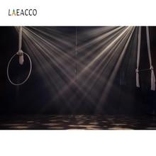 лучшая цена Laeacco Light Bokeh Stage Juggling Pets Portrait Photography Backgrounds Customized Photographic Backdrops for Photo Studio