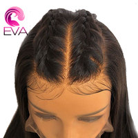 Brazilian Full Lace Wig With Baby Hair Pre Plucked Natural Hairline Glueless Human Hair Wigs Remy Hair Bleached Knots Eva Hair