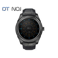 DTNO.1 D7 Smart watch Android 4.4 smart health MT6572 Bluetooth 4.0 500 mAh GPS 3G Wifi Heart Rate Monitor
