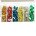 270 Pcs Car Mini Blade Type Fuse Assortment 5A 10A 15A 20A 25A 30A Amp