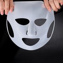 Reusable Silicone Face Skin Care Mask Prevent Essence Evapor