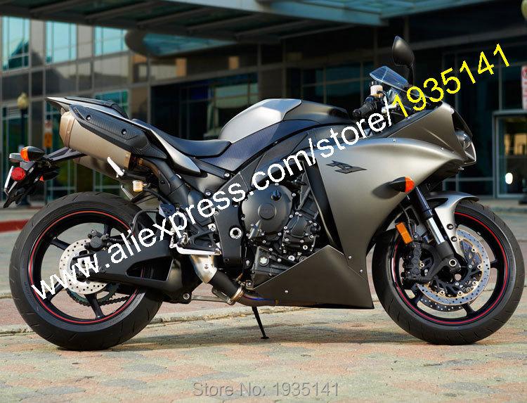 Горячие продаж,для Ямаха YZF 1000 R1 и 12 13 14 частей и YZF-R1 в 2012 серый мотоцикл aftermarket 2013 2014 Обтекатели (литье под давлением)