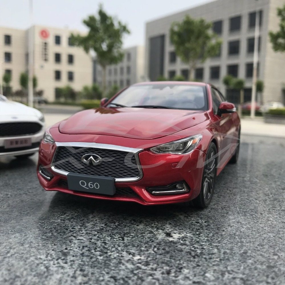 Diecast Car Model Infiniti Q60 Coupe 1 18 Red SMALL GIFT