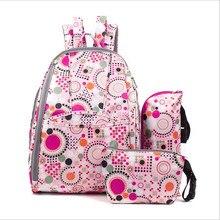 2017 модные рюкзаки большой емкости детские сумка дорожная сумка цветочный плеча сумку высокого качества Повесить багги