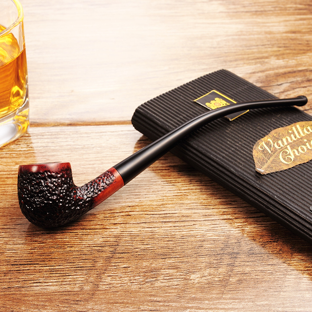 High-grade Classic Reading Trumpet Smoking Pipe 5
