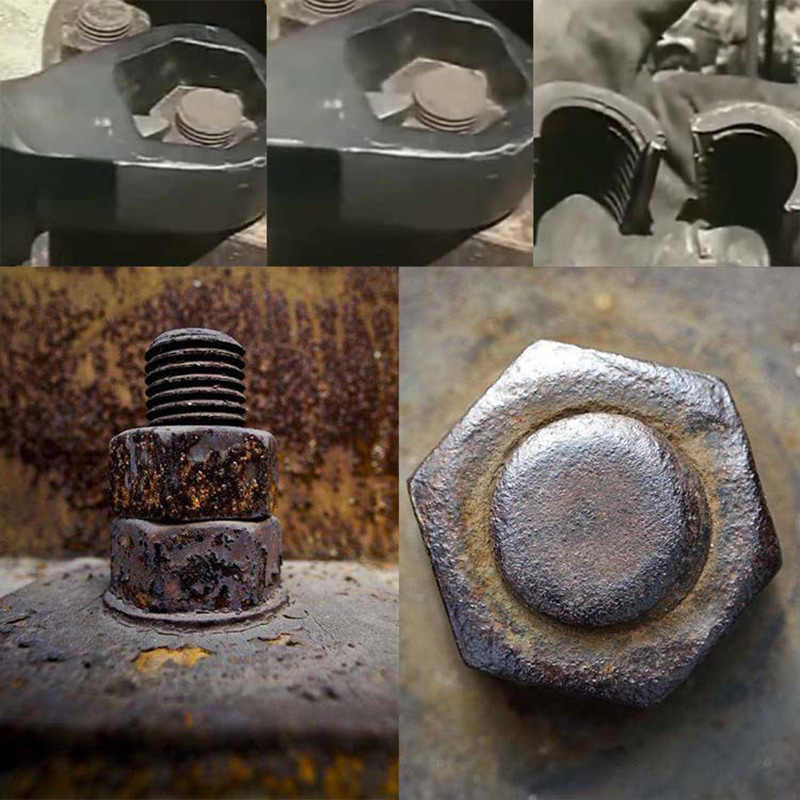 Yüksek kaliteli dayanıklı somun Splitter kesici sökücü Extractor araçları dayanıklı 9-12mm 12-16mm 16-22mm 22-27mm Dropshipping FAS