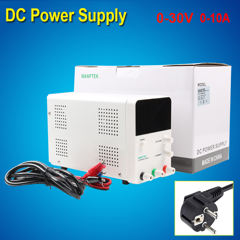 30V 10A High Precision Digital DC Power Supply GPS3010D 220V Adjustable 0.001A Laboratory power supply Voltage Regulator gudi block city large passenger plane airplane block 856 pcs bricks assembly boys building blocks educational toys for children