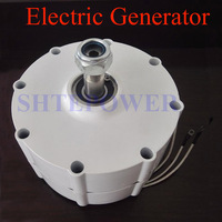 Three Phase AC 48V rated power 400W wind generator for both vertical and horizontal wind turbiens DIY 600r/m