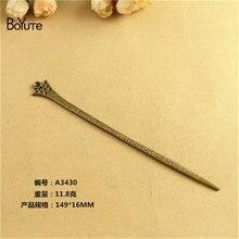 Boyute (10 peças/lote) 147*16mm novo design varas de cabelo feminino grampos de cabelo clássico senhora ferramentas estilo casamento acessórios para o cabelo