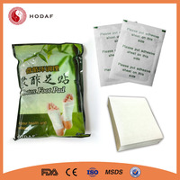 Free shipping! OEM offer 100 patches+100 adhesives per pack health care detox foot patch, bamboo improve sleep foot patch