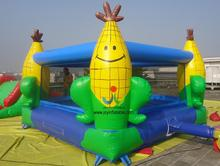 5X5M Hot Jump Corn Inflatable Bouncer Inflatable Bouncy Castle