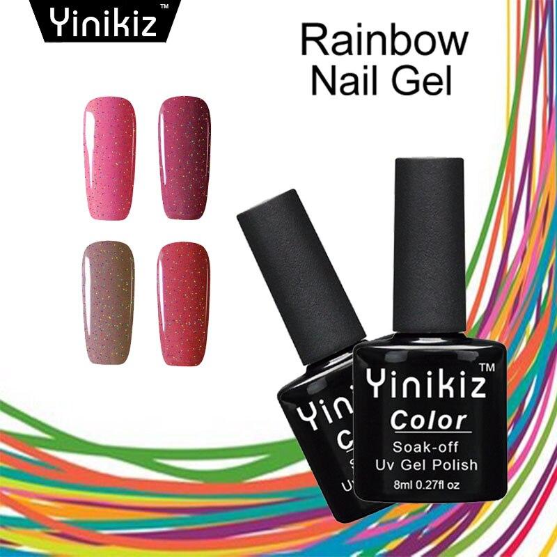 Yinikiz Neon Color Soak Off Long Lasting UV LED Gel Nail