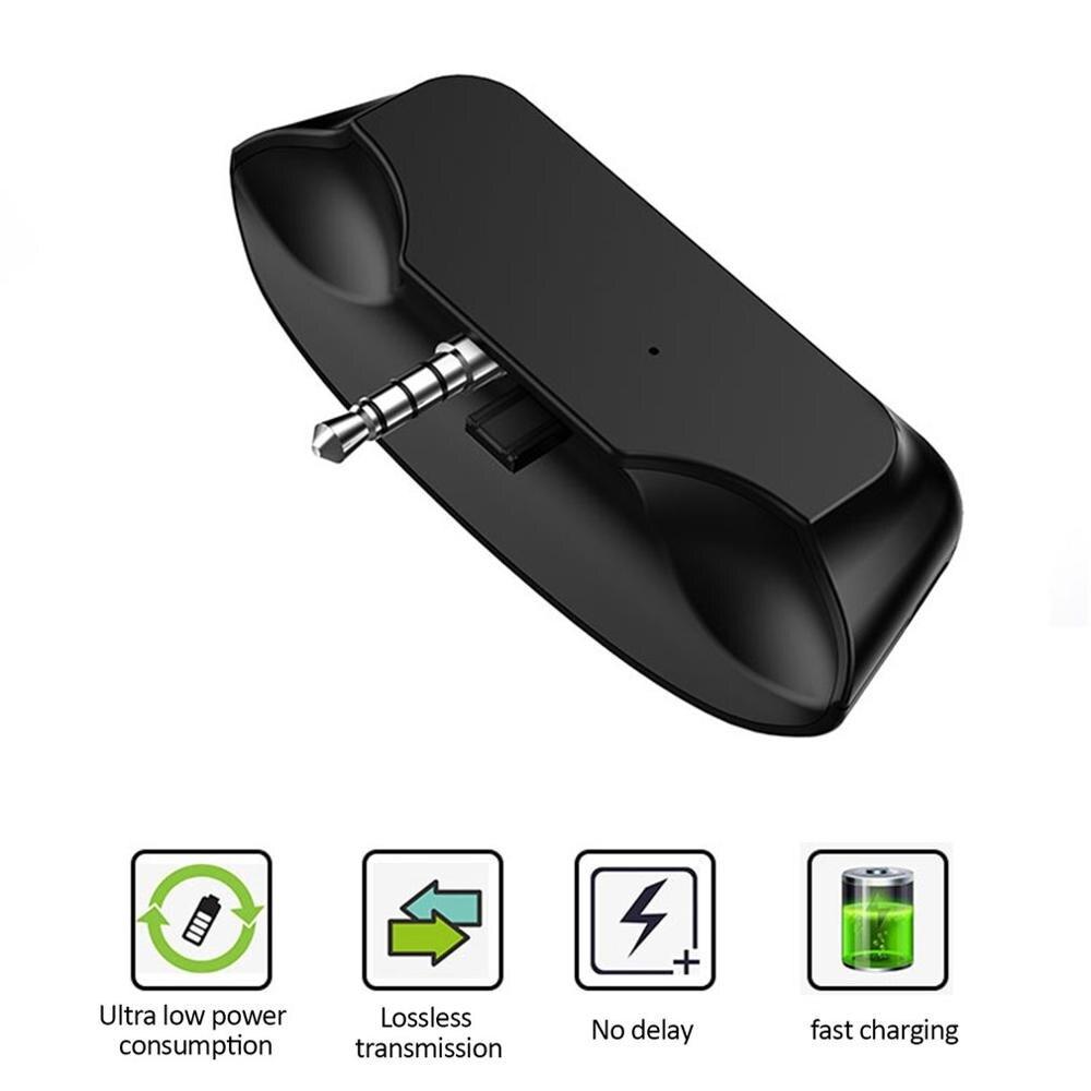 Adaptateur Audio sans fil 5G 3.5mm Jack pour PS4 une Console sans fil poignée de jeu casque TV convertisseur
