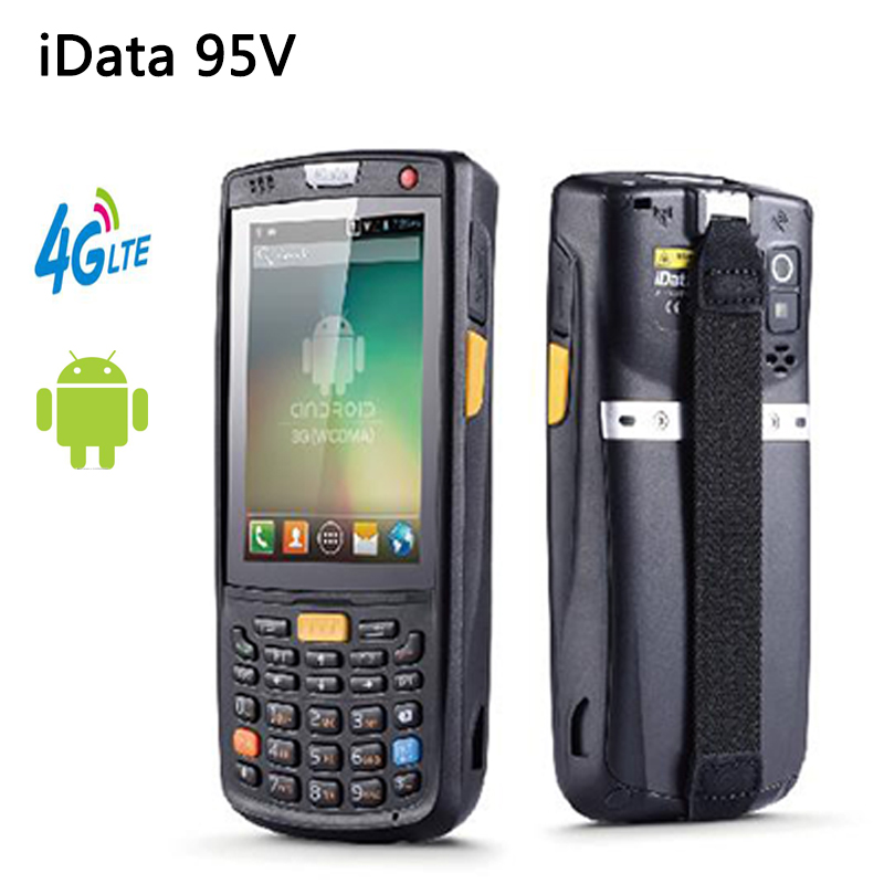 iData95V Handheld Android POS Terminal Wireless 1D 2D Laser Bluetooh WIFI Barcode Scanner 4G GPS Data Collector Rugged PDA феникс презент