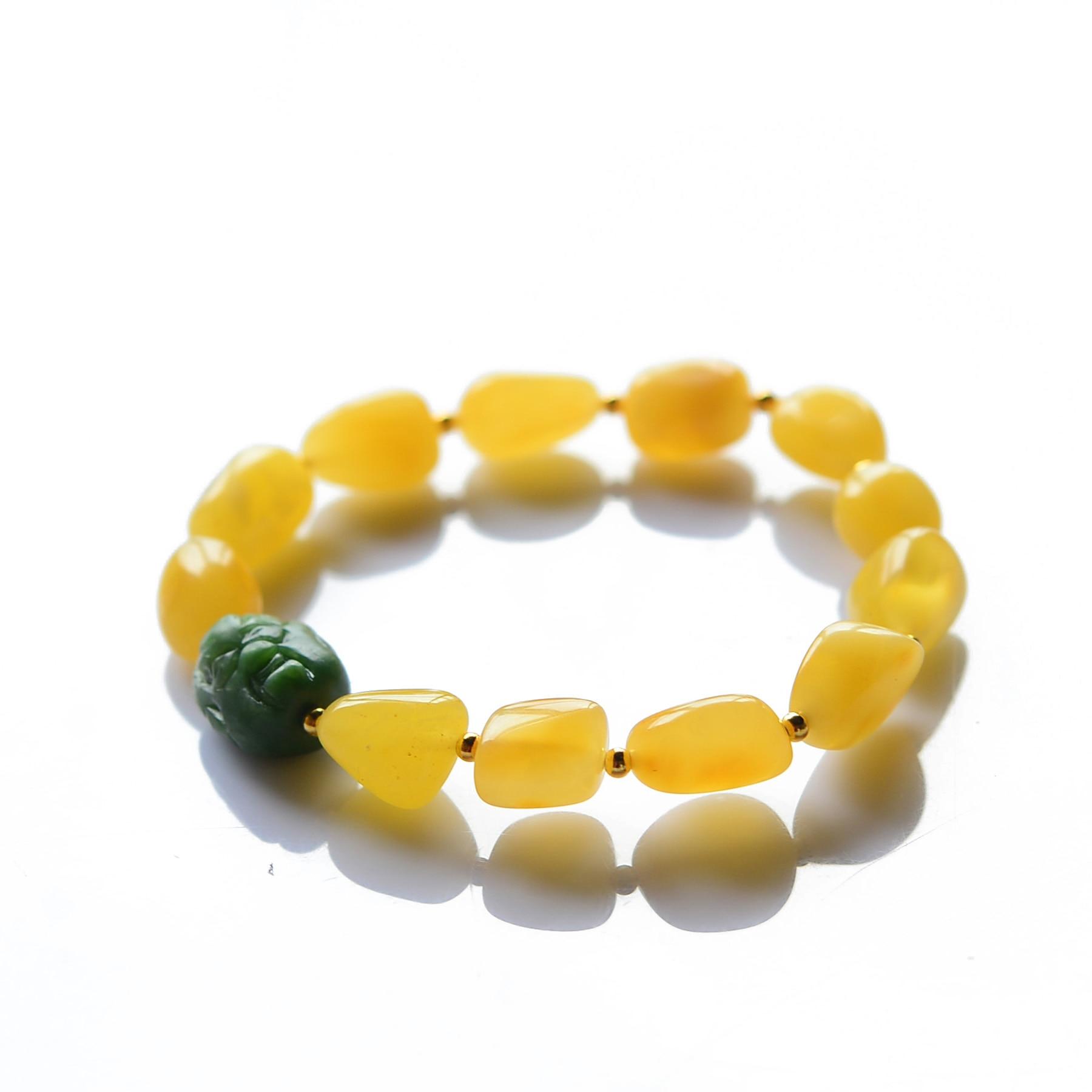 Handmade Authentic Wax Crystal Beads Bracelets handmade authentic wax crystal bracelets