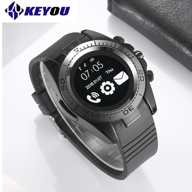 KY SW007 Horloge téléphone Intelligent Montre Bluetooth Sport Smartwatch Hommes Android IOS Caméra Dispositifs Portables 2G Sim TF carte smartwach