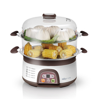 Bear 6 8L Multifunctiona Electric Food Steamer Cooker Cooking Appliances Steamed DZG 3122