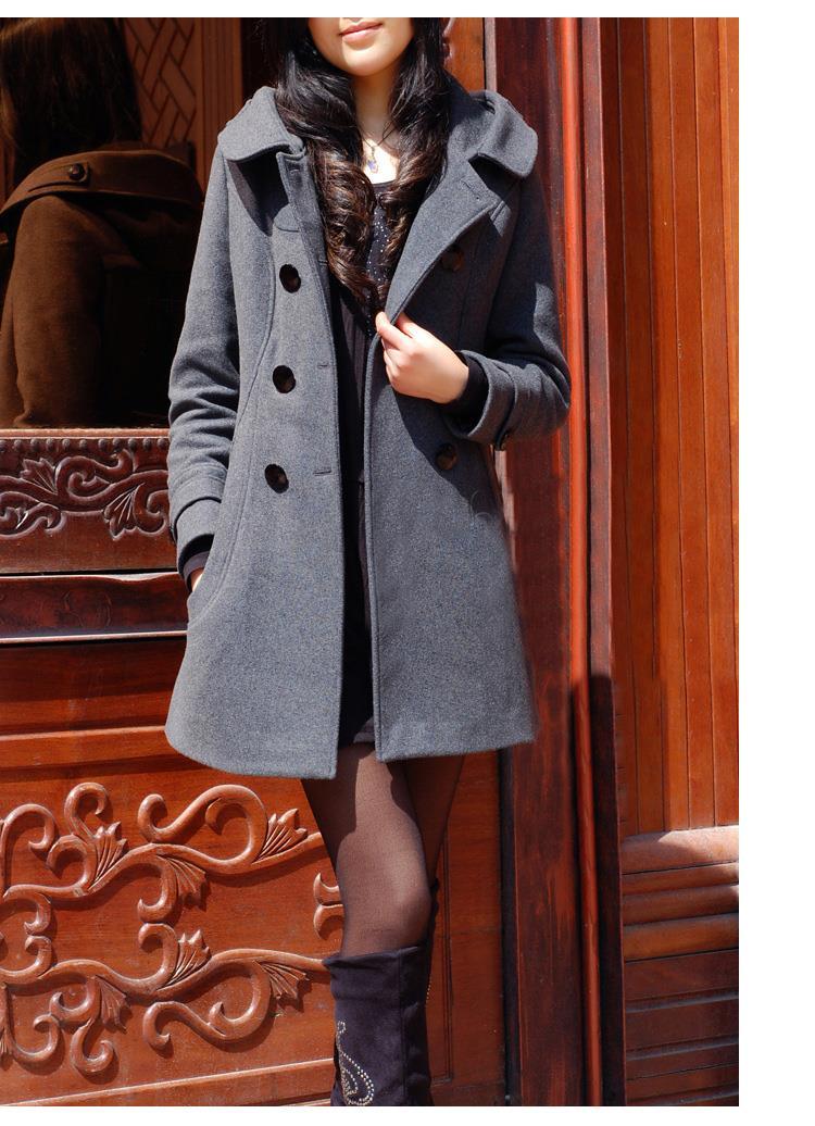 abrigo moda Último descuento 9