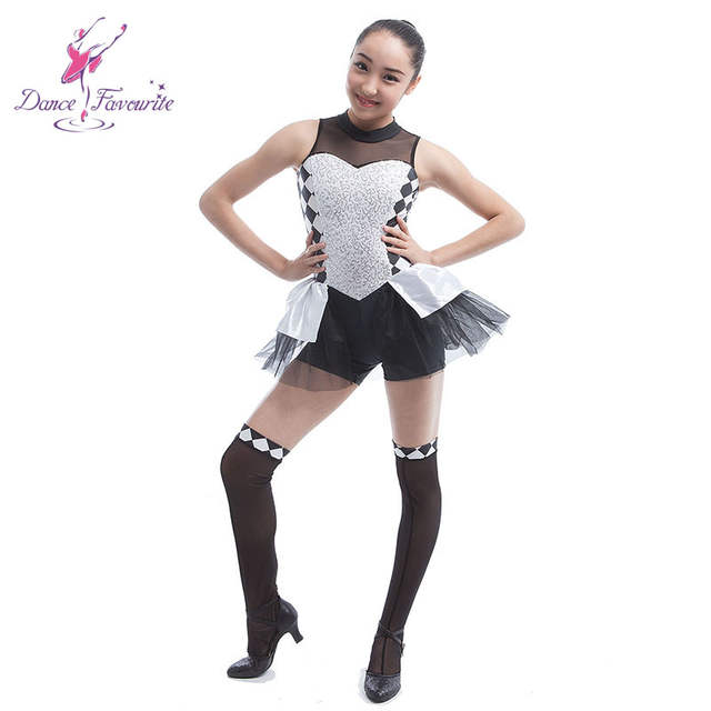 88dd7d367341 Online Shop silver sequin spandex bodice girl dance costume women ...