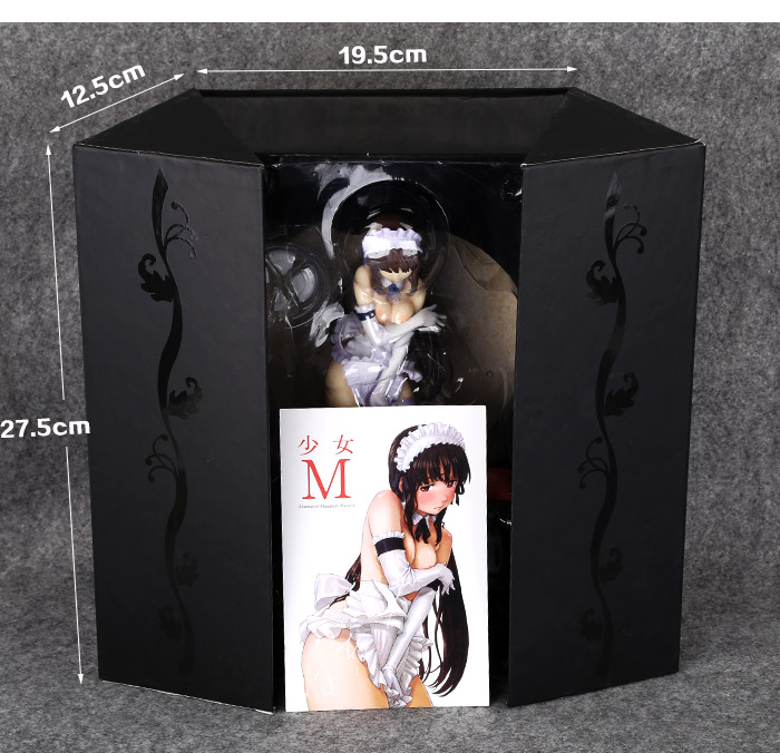 Free Shipping Sexy 9 Japanese Anime Native Creator's Collection M Girl 1/7 Scale PVC Action Figure Collection Model Toy Gift gonlei anime good smile fire emblem awakening tharja 1 7 scale sexy girl pvc action figure collectible model gift toy 18cm k285
