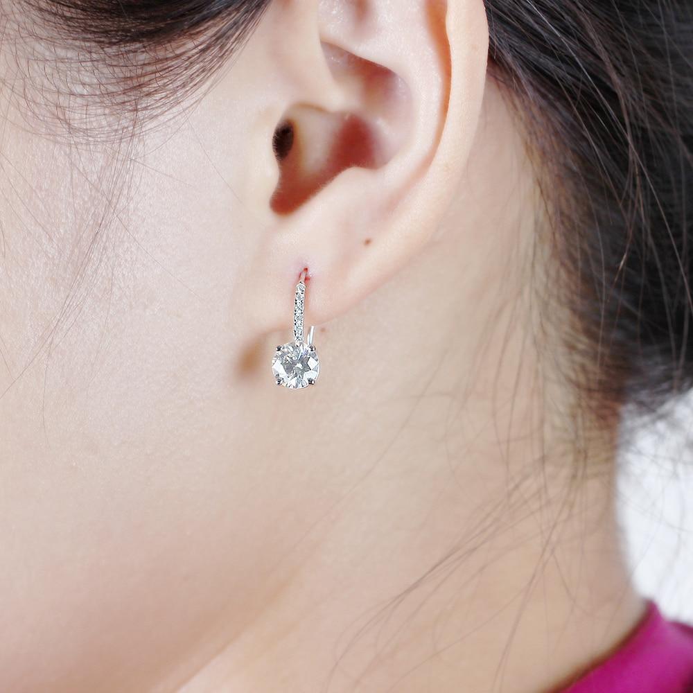 drop earring moissanite silver (6)