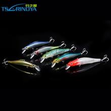 Tsurinoya 2016 New Arrival Fishing Lure 80mm 8g Shad Minnow Wobbler Diving 1m Hot Wholesale Artificial Bait DW44