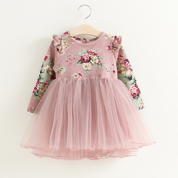 Flower Princess Dress For Girls 4