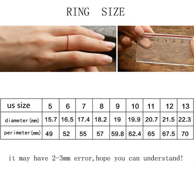 Пара серебряных мужских золотых мужских колец в стиле панк, обручальное кольцо на палец, женские черные обручальные кольца из нержавеющей стали для женщин, ювелирные изделия