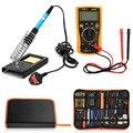 23 в 1 60 Вт Многофункциональный паяльник набор инструментов для различных электронных устройств с полиуретановой сумкой EU US UK Plug