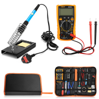 23 in 1 60W Multifunction Soldering Iron Tools Set for Various Electronic Devices With PU Bag EU US UK Plug